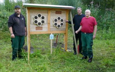 Bingo Umweltstiftung sponsert 2. Insektenhotel