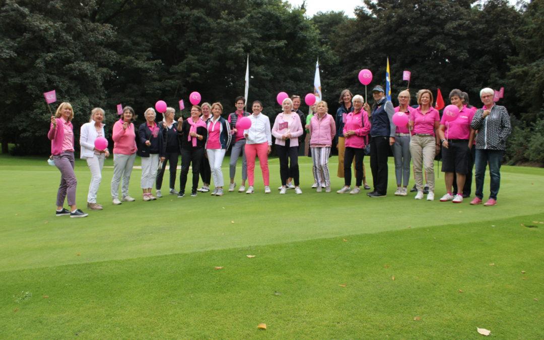 Pink Ribbon ist Ehrensache für die Golferinnen