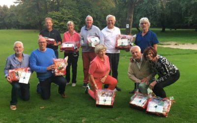 Die Niederländer golften bei herrlichem Herbstwetter